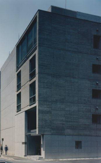 設計者 廣田豊(新建築 1988年12月号)